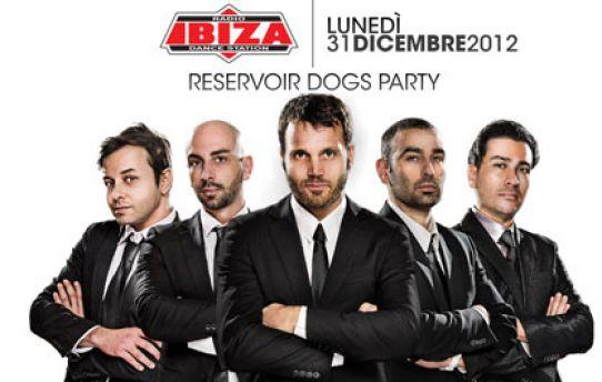 Alcuni dei protagonisti di Radio Ibiza in occasione del capodanno 2012.