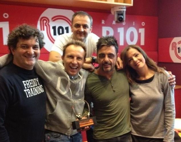 R101 radio italia